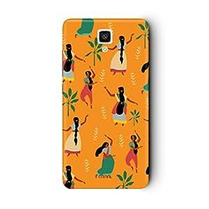 Mivi Xiaomi MI4 Designer Case Back Cover (Dancing Women's)