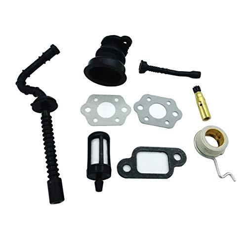 Shioshen Vielfältigen Boot Öl Pumpe Schneckengetriebe Heizöl Ansaugschlauch Filter Kit für STIHL 025 023 021 MS250 MS230 MS210 Kettensäge Teile -