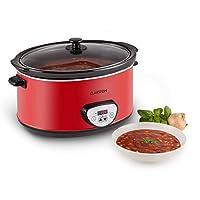 Un Slow Cooker pour mijoter vos petits plats avec un élément chauffant de 320W.           Cuisson idéale grâce à une température basse et régulière, chaleur répartie également par le récipient de 6,5l en céramique.           Prêt à l'emploi s...