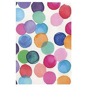 i.stHOME Klebefolie Möbelfolie selbstklebend Julia Bunte Punkte - Selbstklebende Folie für Möbel 45 x 200 cm Dots Muster Selbstklebefolie mit modernem Dekor