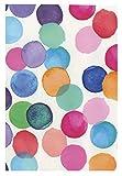 i.stHOME Klebefolie Möbelfolie Punkte bunt - Julia Bunte Punkte - Selbstklebende Folie für Möbel 45 x 200 cm Dots Muster Selbstklebefolie mit modernem Dekor