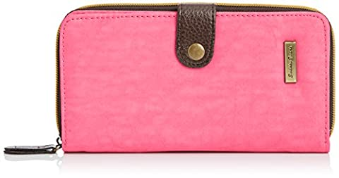 SwankySwans Riley Long Folding Lw, Portefeuille femme - Rose - Pink (Light Pink),