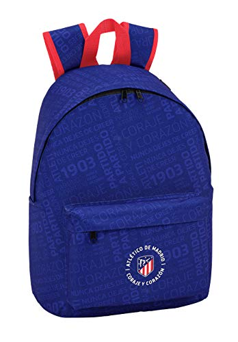 Atletico De Madrid 641848819 2018 Mochila Infantil, 41 cm, Azul