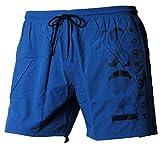 BOSS Short de Bain Hugo pour Homme, Octopus, Short de Bain, S-XXL, Maillot de Bain, Maillot de Bain (M (Medium), Bleu)