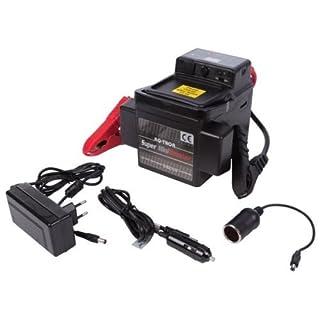 RQ-TRON Mini-Starthilfegerät, USB, Auto, Motorrad, 12 V, 1200 A, Ersatzbatterie