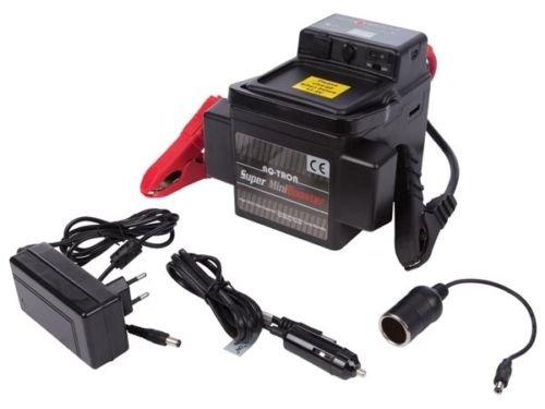 RQ-TRON Mini-Starthilfegerät, USB, Auto, Motorrad, 12 V, 1200 A, Ersatzbatterie (Tron Auto)
