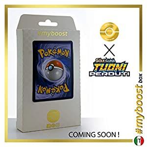 Dialga 127/214 Holo - #myboost X Sole E Luna 8 Tuoni Perduti Box de 10 Cartas Pokémon Italiano