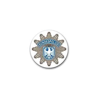 Aufkleber/Sticker Bundespolizei 2 BPOL Bundesrepublik Deutschland 7x7cm A1850
