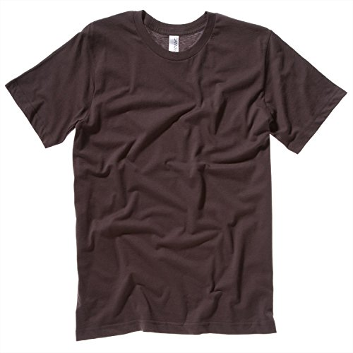 Bella Canvas Unisex Jersey Crew Neck T-Shirt Brown