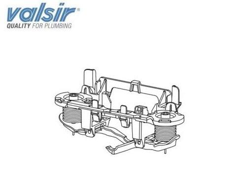 Valsir - Kit neumático para Tropea, 3 piezas VS 0866692 para caja...