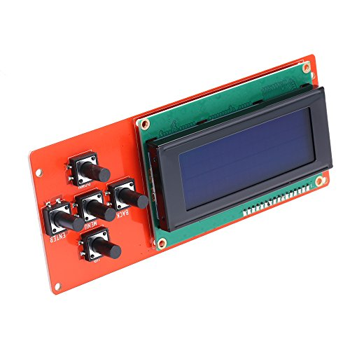 Anet LCD 2004 écran LCD Contrôleur Ecran Bleu pour RepRap Rampes 1.4 pour Imprimante 3D, Kit d'impression 3D Accessoires