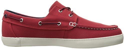 Timberland Newport Bay_Newport Bay 2 Eye Boat Ox, Chaussures bateau homme Rouge (Haute Red)