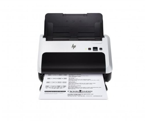 Bild 5: HP Scanjet Professional 3000 s2 Dokumenten-Einzugsscanner (600 x 600 dpi, Duplex, USB, 1.000 S. empfohlene Tagesleistung) L2737A
