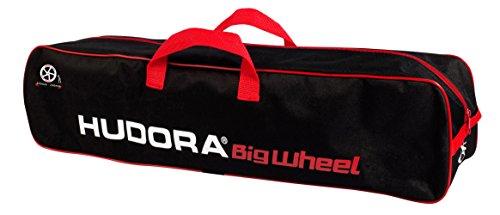 Hudora 14491 - Scootertasche 200-250, schwarz/rot