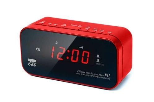 New One CR120 Radio/Radio-réveil - Rouge