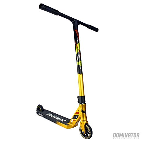 Dominator Team Edition Kompletter Pro Stunt Scooter - Gold / Schwarz