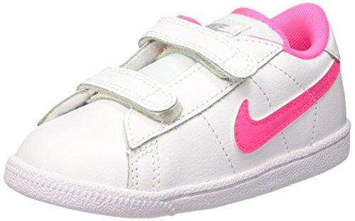 Nike Tennis Classic (TDV) - Chaussures du Nouveau-Né, Blanc/Rosa/Grey (Blanc/Pink pow-Wolf Grey), Taille 21