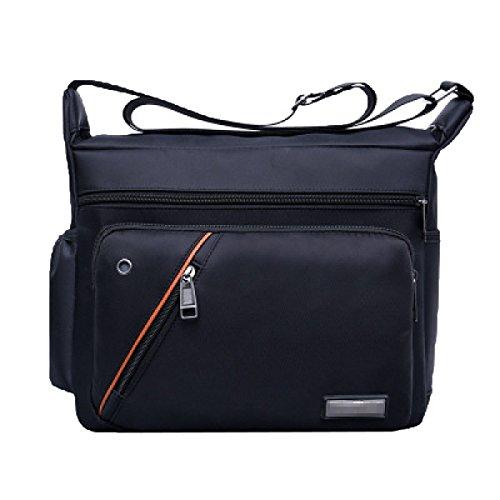 Fulltime Sac à dos unisexe à l'école sacs de voyage double bandoulière sac zippé (Rouge) 2iADcrf2