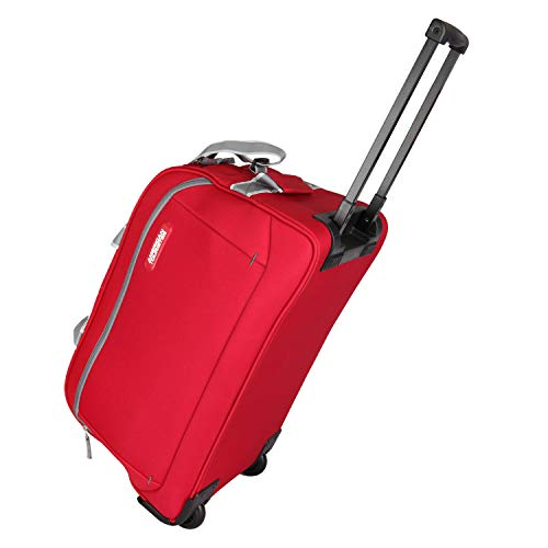 American Tourister Apex 55cms Travel Duffel Bag  Red