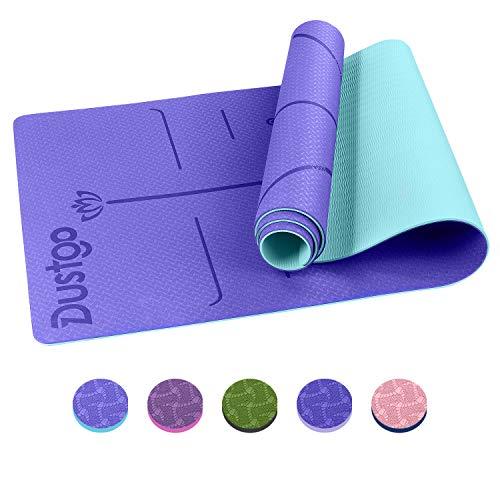 Dustgo Yoga Mat (Viola - Blu)