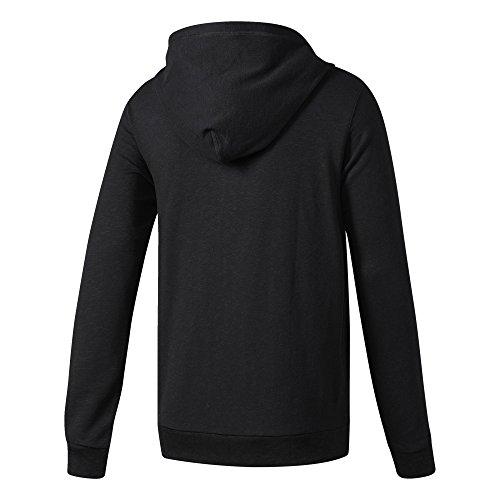 adidas Herren Cross-Up Full Zip Kapuzenjacke Black