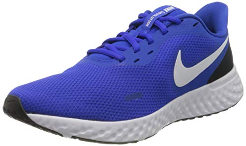 Nike Revolution 5, Zapatillas de Atletismo para Hombre, Multicolor Racer Blue/White/Black 401, 41...