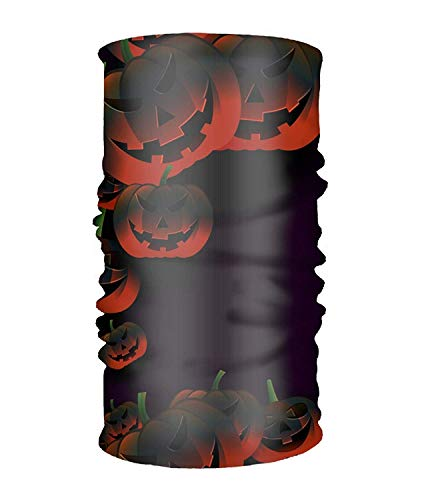 Voxpkrs Stirnband Halloween Party Blood Red Multifunctional Headwear Head Wrap Neck Balaclava amd Sport Scarf