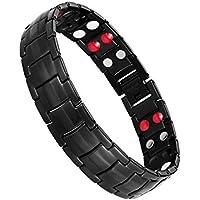 Jeracol Titanium Stahl Magnetische Armband für Herren Doppel Starke Gesundheit Magnetarmband Schmerzlinderung... preisvergleich bei billige-tabletten.eu