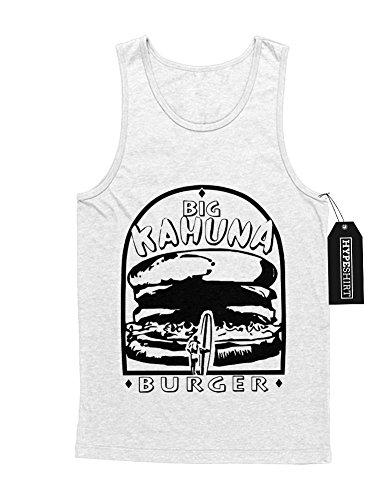 Tank-Top Big Kahuna Burger Pulp Fiction Quentin Tarantino C549348 Weiß