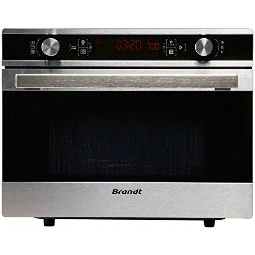 Brandt CE3620X Microonde combinato Piano di lavoro 36L Nero, Acciaio inossidabile forno a microonde