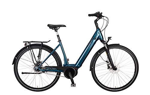 Kreidler Vitality Eco 8 8G FL Disc Damen Ebike 2020, Rahmenhöhe:45 cm, Farbe:blau, Akku:500 Wh