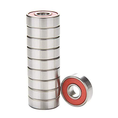abgeschirmt 3 x 6 x 2,5 mm 2 DIY Mechanicals MR63ZZ Miniatur-Kugellager aus Metall