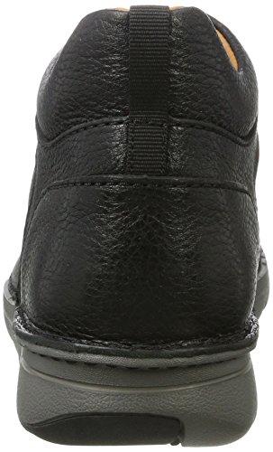 Clarks unnature Mid, Bottes Classiques Homme Noir (Black Leather)