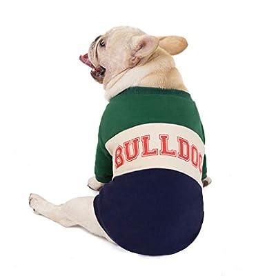 FELZ Ropa para Mascotas Otoño E Invierno Engrosado Traje De Año Nuevo Chino Ropa para Perros Traje Tang Disfraz Navidad Perro Ropa Mascotas Sudaderas con Capucha para Cachorros