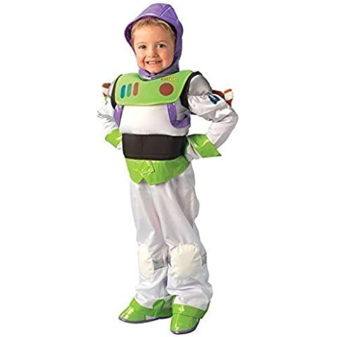 Platinum Deluxe Bambino Ragazzi Disney Toy Story Buzz Lightyear Book Day Halloween (Deluxe Bambino Buzz Lightyear Costume)