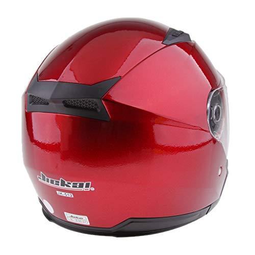 L Nero Homyl Casco Aperto Copricapo Fronte Mezzo Protezione Testa Per Moto Cruiser Cafe Racer