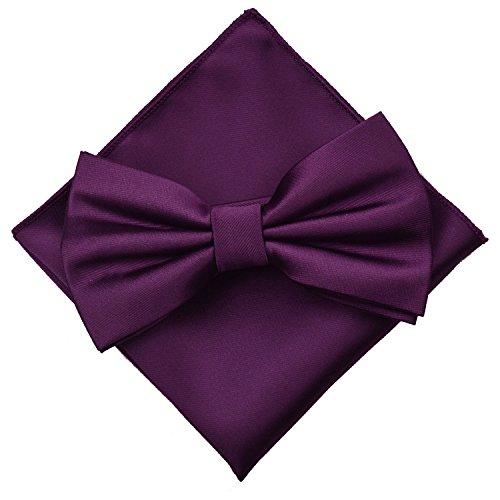 Enjoymore - Nœud papillon - Homme violet foncé