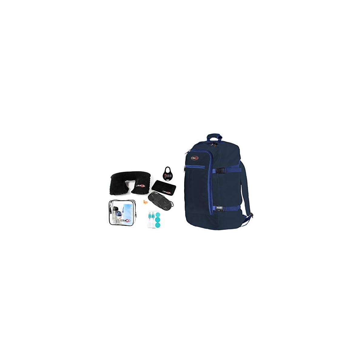 41OI1 vdveL. SS1200  - CABIN GO Mochila cod. MAX 5540 equipaje de mano/cabina de viaje, 55 x 40 x 20 cm, 44 litros de vuelo IATA aprobados/EasyJet/Ryanair
