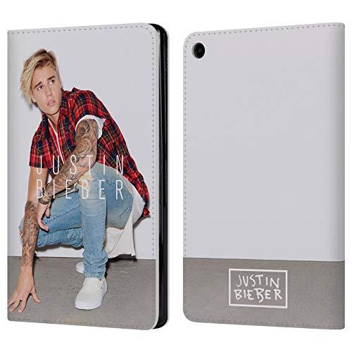 Head Case Designs Ufficiale Justin Bieber Foto Calendario Purpose Cover a Portafoglio in Pelle per Amazon Fire HD 8 (2017)