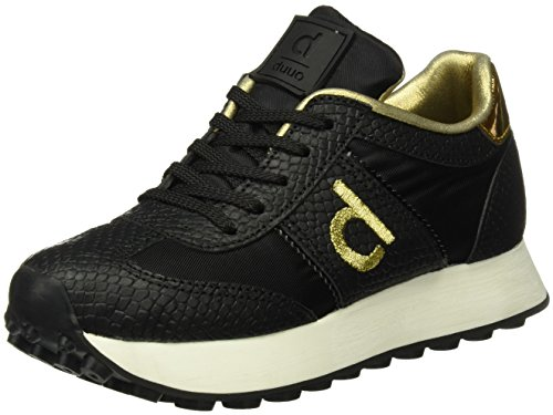 Duuo D260465, Zapatillas Hombre, Negro (Black), 42 EU Duuo