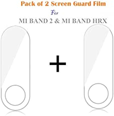 Iloft® Screen Scratch Guard Protector Film for Xiaomi Mi Band 2 & MI Band HRX Edition - (Pack of 2)