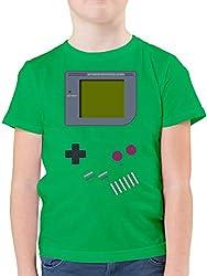 Up to Date Kind - Gameboy - 128 (7/8 Jahre) - Grün - F130K - Kinder Tshirts und T-Shirt für Jungen