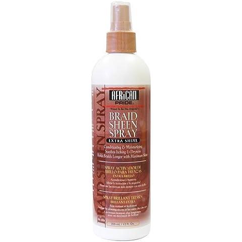 African Pride Braid Sheen Spray, Regular, 355