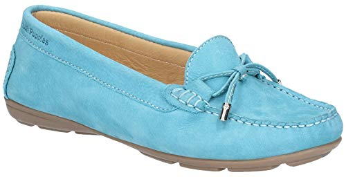 Hush Puppies Womens Maggie Toggle Slip On Flat Casual Shoes