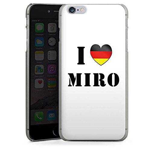 Apple iPhone X Silikon Hülle Case Schutzhülle Miroslav Klose Fußball Deutschland Hard Case anthrazit-klar