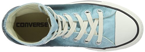 Converse Chuck Taylor All Star, Sneakers Unisex Adulto Blu (Motel Pool/Rebel Teal/EgretMotel Pool/Rebel Teal/Egret)