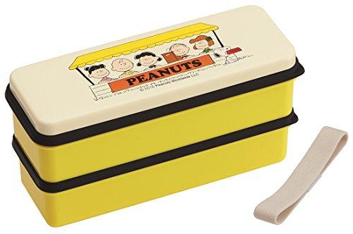 Skater Peanuts Snoopy Silizium top zwei Stufen Brotdose bento boxen Zeit SSLW6 Mittagessen Zeit von Japan (Bento Snoopy)
