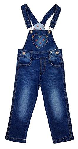 Angel Kids Tolle Mädchen Jeans Latzhose Gr. 9/12 Mon. Mn4801
