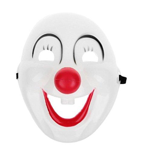 Wansan Halloween Clown Maske Mode Cosplay Kostüm Maske für Halloween Maskerade Party