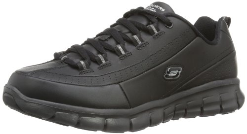 more photos afb38 3f4eb Skechers Synergy - Elite Status formatori Donna, Nero (Schwarz (Bbk)),